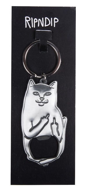 猫のボトルオープナー「Lord Nermal Bottle Opener」 by RIPNDIP