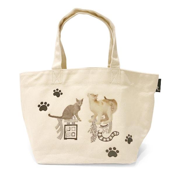 映画「猫は抱くもの」と、ルートートがコラボした猫トートバッグ