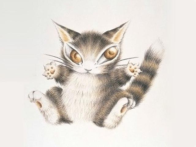 お気に入りの猫のダヤンに投票する「BABY総選挙」キャンペーンが9/2まで開催中