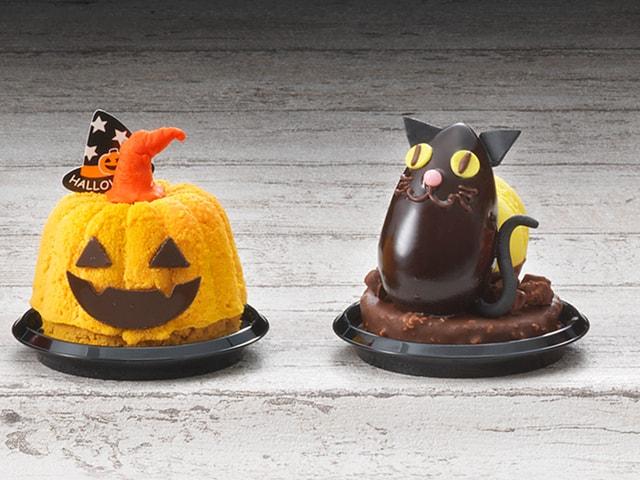 リーガロイヤルホテル大阪にハロウィン限定の黒猫ケーキ&チョコレートが登場