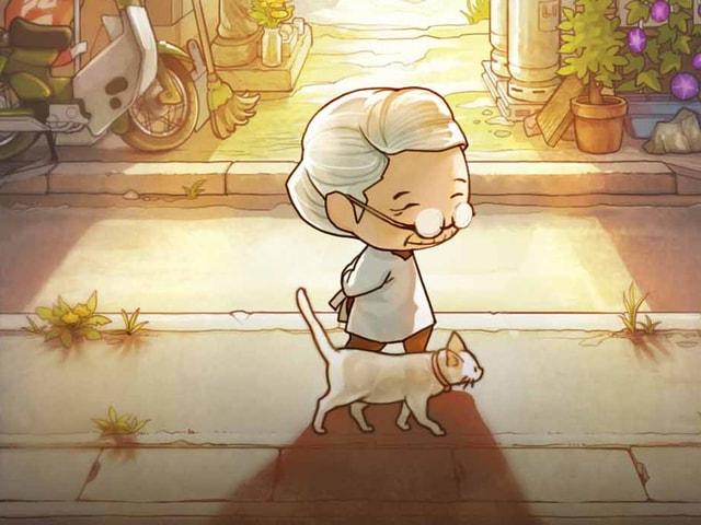 放置型育成ゲーム「昭和駄菓子屋物語3」~おばあちゃんとねこ~