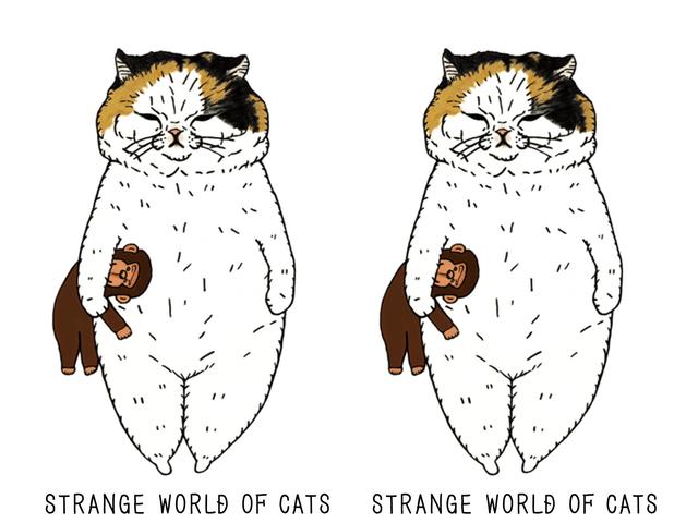 渋味のきいた猫イラスト「世にも不思議な猫世界」2019年版の手帳とカレンダーが登場