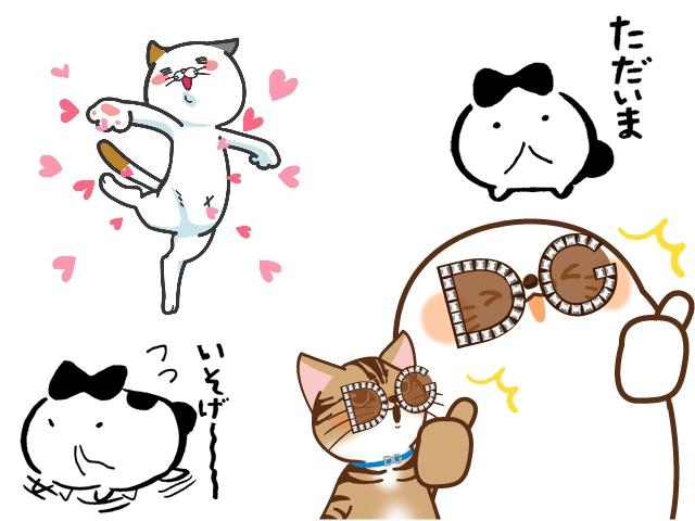 ドルチェ&ガッバーナなど、2018年8月に登場した猫のLINEスタンプ3選