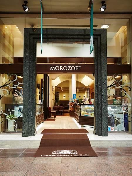 洋菓子店・モロゾフの店舗外観イメージ