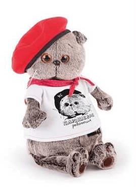 帽子とTシャツを着た猫のぬいぐるみ by BUDI BASA(ブディーバーサ)