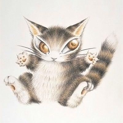 3猫のダヤンが3人の魔女のいたずらによって赤ちゃんにされてしまった「BABYダヤン」
