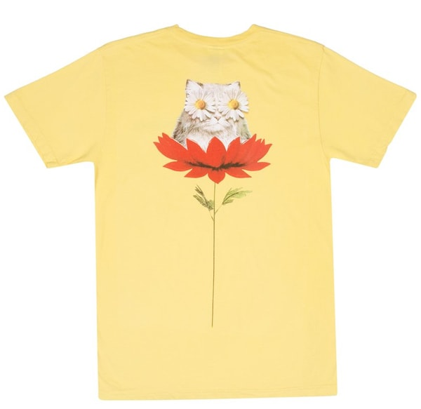 4猫のTシャツ「Daisy Do Tee 」 by RIPNDIP