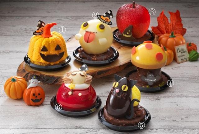 ハロウィンメニューのケーキ全6種類 by グルメブティック メリッサ