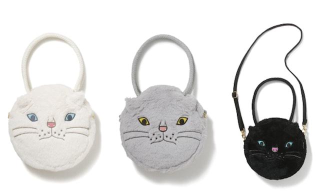 ぬいぐるみのような猫のトートバッグ by ROOTOTE
