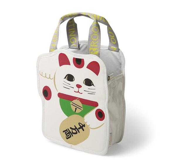 招き猫のトートバッグ by ROOTOTE