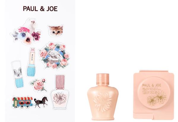PAUL & JOE MAKE UP STREETでもらえる新商品&人気商品のサンプル