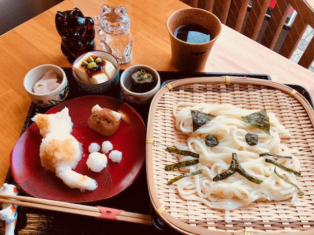 茶房松緒(御食事・甘味処)の猫メニュー