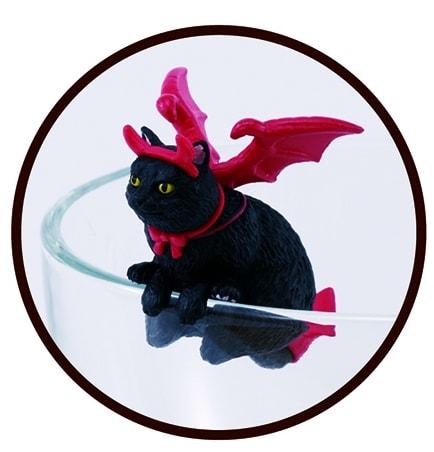 小悪魔ジャンボ ハロウィン版のふちねこ