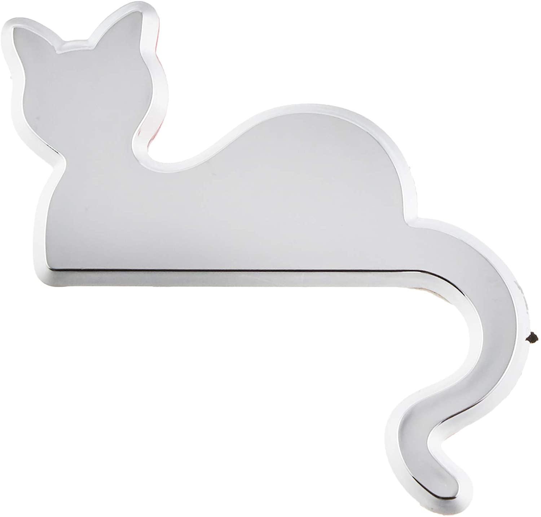 猫のシルエットでエンブレムを装飾できる車用の「エンブレムアクセサリー」