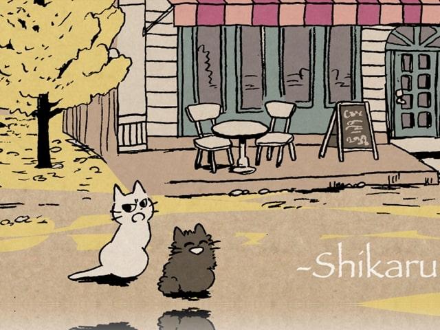 優しく叱ってくれる猫キャラ「しかるねこ」のコラボカフェが9/8にオープン