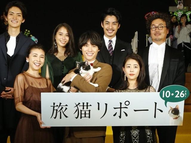 福士蒼汰ら撮影秘話を大公開、映画「旅猫リポート」完成記念イベントが開催