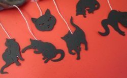 ティーバッグのタグが猫の切り絵になっている面白ギフト「ね紅茶」
