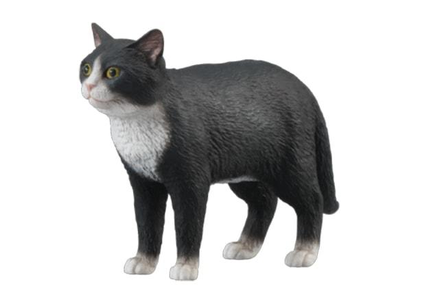 精巧に作られている「ねこぶそう」の猫フィギュア