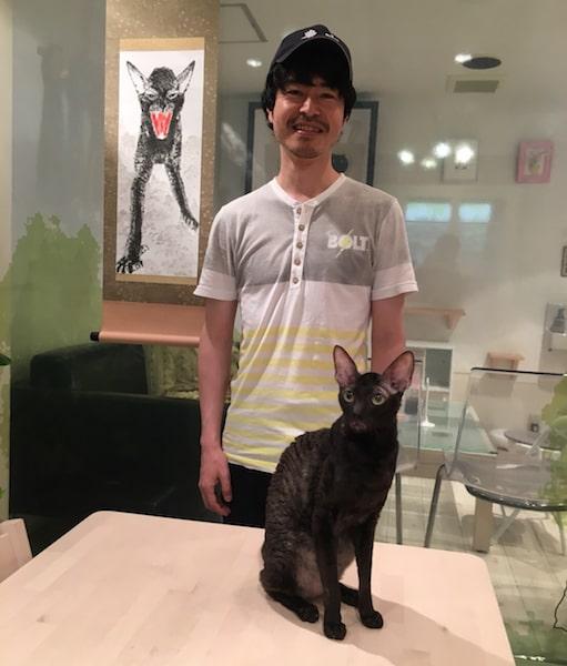 スーパーハンコアート作家の安東和之氏