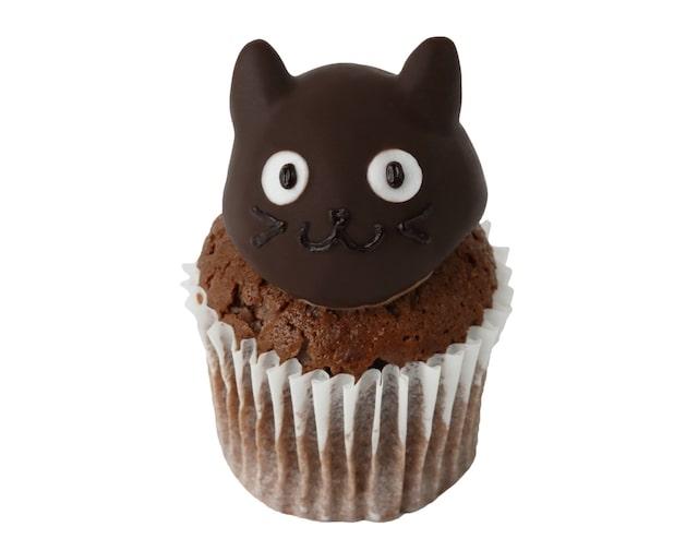 「くろねこチョコラズベリー」のカップケーキ by フェアリーケーキフェア