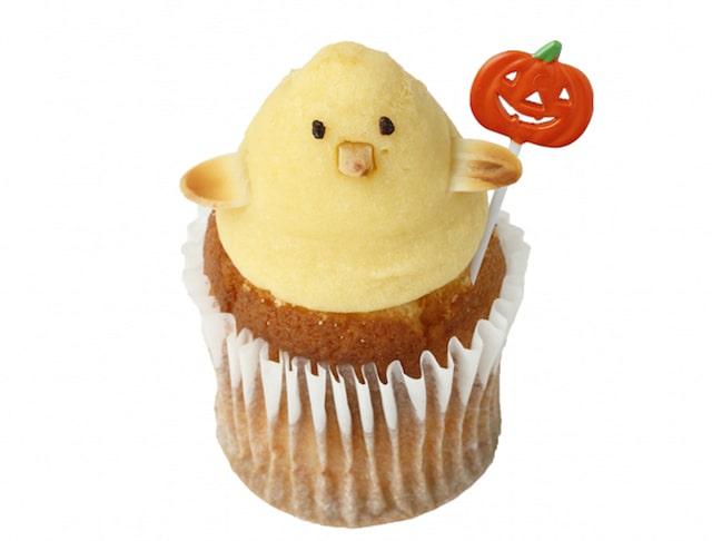「ハロウィンヒヨコ」のカップケーキ by フェアリーケーキフェア