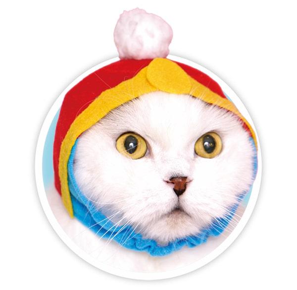 デデデ大王をモチーフにした猫用のかぶりもの