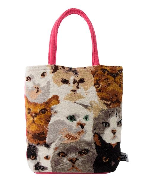猫デザインのトートバッグ in private×Cat's ISSUE