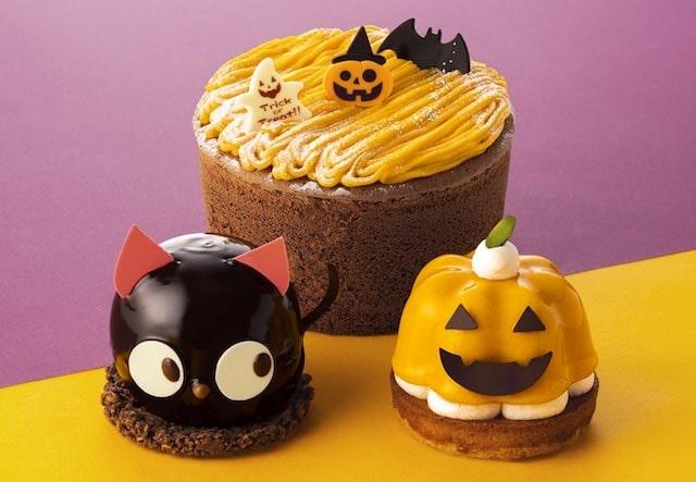 洋菓子ブランド「銀のぶどう」のハロウィン限定ケーキ3種類