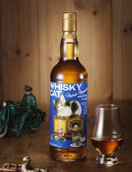 ウイスキー『村松誠 猫ラベル』グレン・エルギン1995