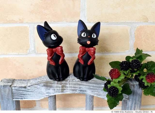 黒猫ジジのソフビマスコット
