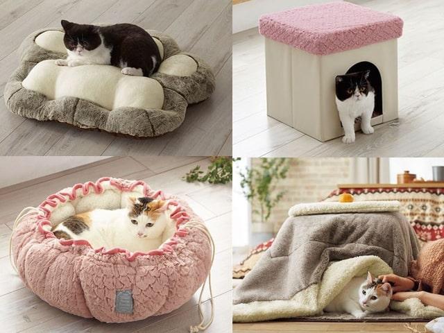 セシールから新発売された猫用の暖房グッズ4種