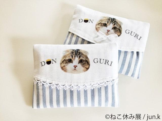 猫のポケットティッシュケース