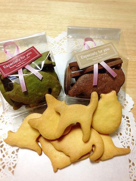 猫のクッキー&フィナンシェ by お菓子屋ニャンライズ