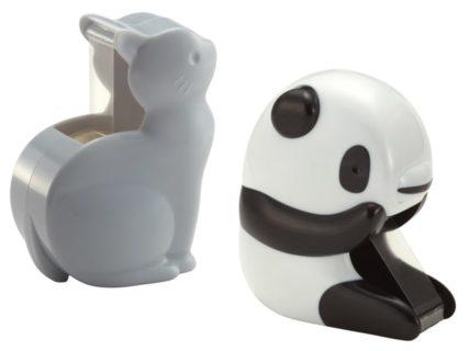 セロテープカッターの動物シリーズに「ねこ」と「パンダ」が仲間入りしたニャ