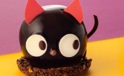 くりくりのお目々が魅力的な「黒猫ショコラ」が洋菓子店・銀のぶどうで販売中