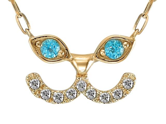 青い瞳が魅惑的♪ スタージュエリーから可愛い猫のネックレスが新登場