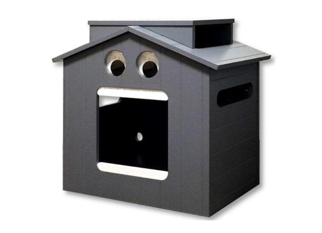 犬猫兼用ペットハウス「MIKE & CHIALIS HOUSE(マイクとチアリの家)」斜めからのイメージ