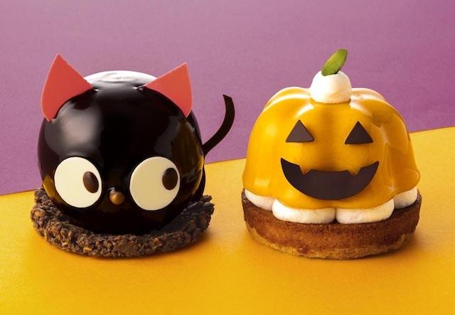 「黒猫ショコラ」と「ハロウィン・パンプキン」 by 銀のぶどう