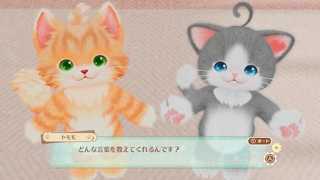 人間の言葉に興味しんしんの猫たち by ネコ・トモ
