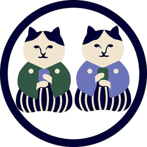 お茶に詳しい猫キャラ「ねこ茶商」