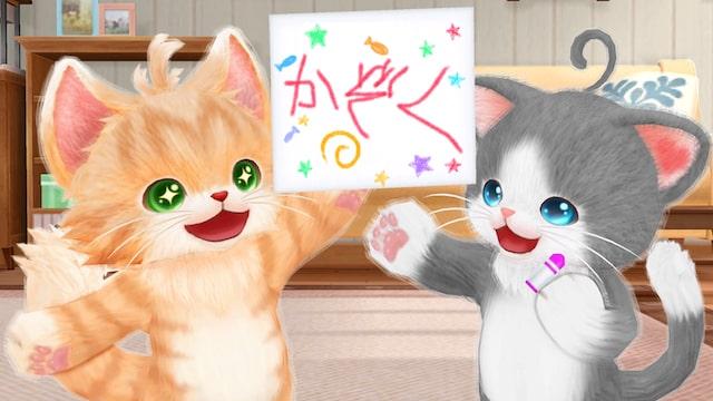 人間の言葉を覚えていく猫たち by ゲーム「ネコ・トモ」