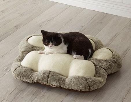 猫の肉球型クッション by セシール