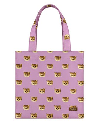 ポールアンドジョーの猫をモチーフにしたオリジナルトートバッグ