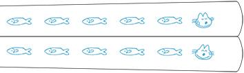 「11ぴきのねこ」のお箸の柄