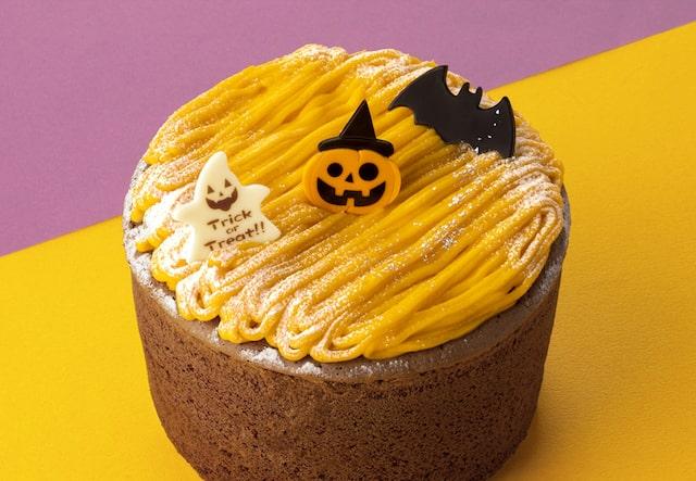 かぼちゃのモンブランシフォンの商品拡大イメージ by 銀のぶどう