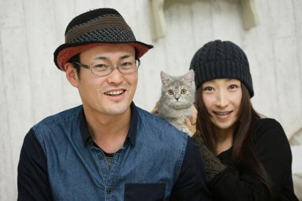 猫カフェ合コンでカップルが成立したイメージ