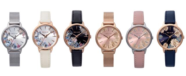 ポールアンドジョーの新作腕時計「BLOOMING COLLECTION」全6種