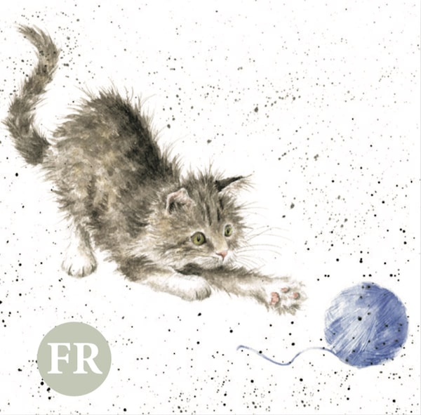 イギリスの雑貨ブランド「レンデル」の猫のグリーティングカード