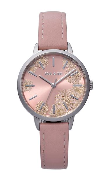 ポールアンドジョーの腕時計CHRYSANTHEMUM(クリザンテーム)ピンク