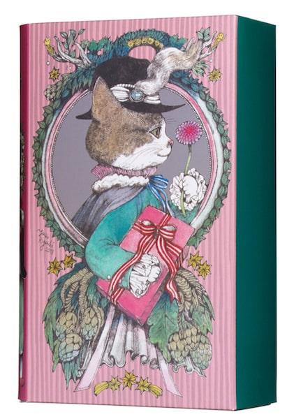 ヒグチユウコ クリスマス限定BOX(GREEN)のパッケージイメージ